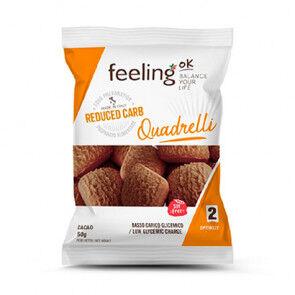 FeelingOk Mini Biscuits FeelingOk Quadrelli Optimize Cacao 50 g
