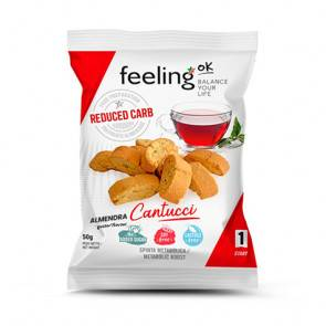 FeelingOk Mini Biscuits FeelingOk Cantucci Start Amandes 50 g
