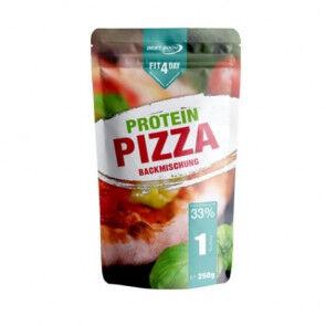 Fit4Day Mélange de pâte à pizza protéinée de Fit4Day 250g