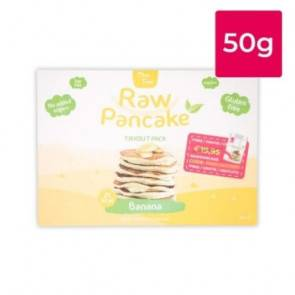Clean Foods Monodose pour Pancakes Low-Carb Raw goût Banane Clean Foods 50g