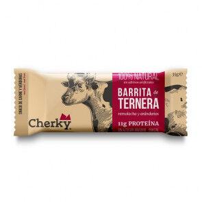 Cherky Foods Barre de Boeuf Bio aux Betteraves et Bleuets Cherky 35g