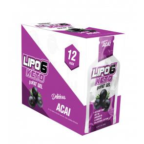 Nutrex Research Lipo 6 Keto goFat Acai Nutrex Research gel de perte de poids saveur de baies 12x30ml