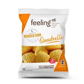 FeelingOk Mini Biscuits FeelingOk Quadrelli Optimize Orange 50 g