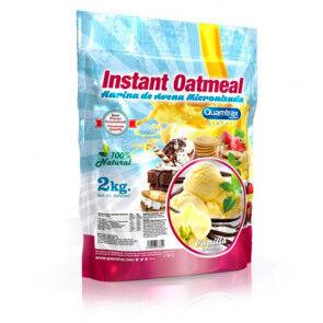 Quamtrax Nutrition Flocons d'avoine aromatisés Vanille Quamtrax 2 kg