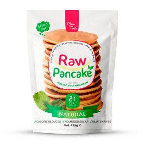Clean Foods Préparation pour Pancakes Low-Carb Raw goût Nature Clean Foods 425 g