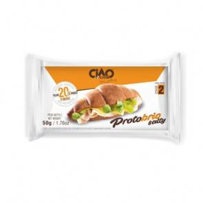 CiaoCarb Croissant Salé CiaoCarb Protobrio Phase 2 Sucré Naturel 1 unité 50 g