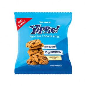 Weider Mini biscuits aux protéines Weider Yippie! arôme Chocolate Chips 50g