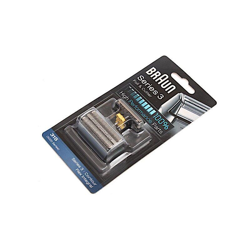 1001pièces Combi-Pack Flex Integral Contour 31S Silver BRAUN - 4210201072829