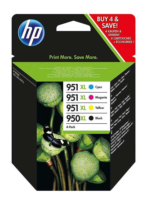 HP MultiPack HP N°950/951 4Couleurs XL