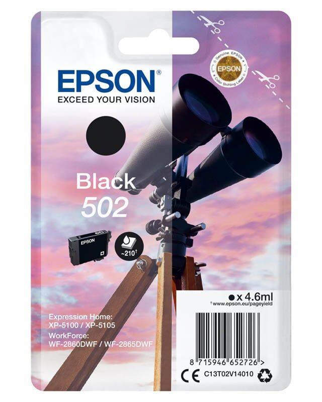 EPSON Cartouche EPSON 502 Jumelles Noir