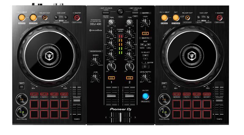 PIONEER DJ Contrôleur USB PIONEER DJ DDJ-400