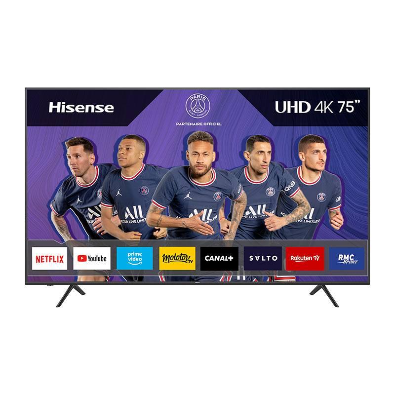 HISENSE TV UHD 4K HISENSE 75A7100F Smart Wifi