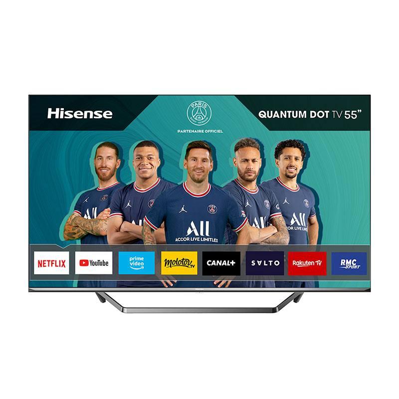 HISENSE TV QLED HISENSE 55U7QF Smart