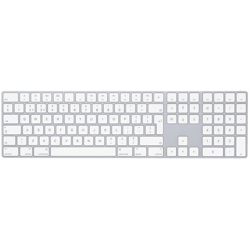 APPLE Clavier Apple Magic Keyboard avec pavé numérique Argent reconditionné grade A