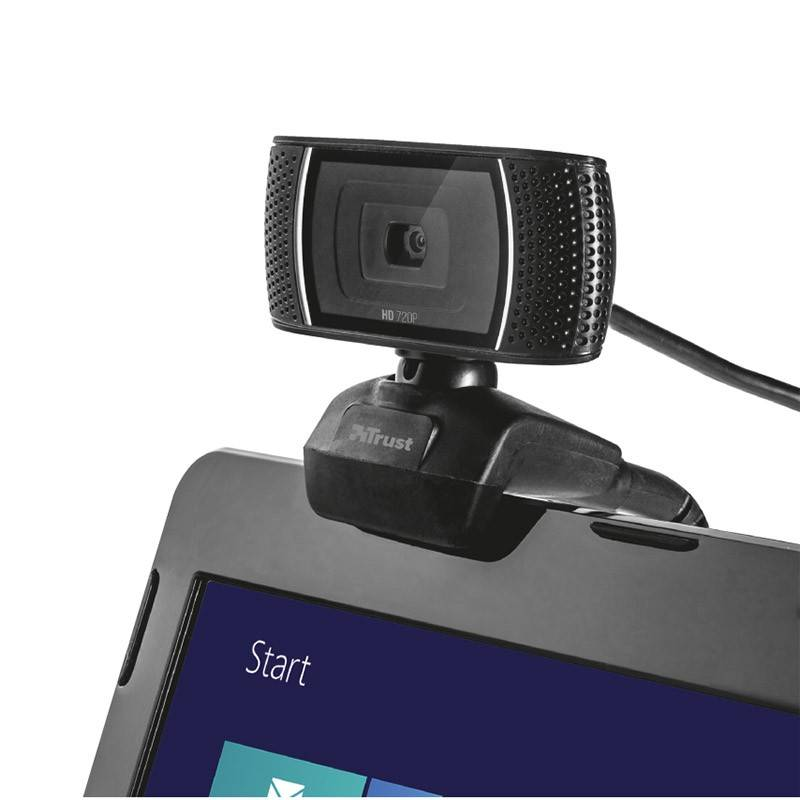 TRUST Webcam HD/micro intégré TRUST TRINO