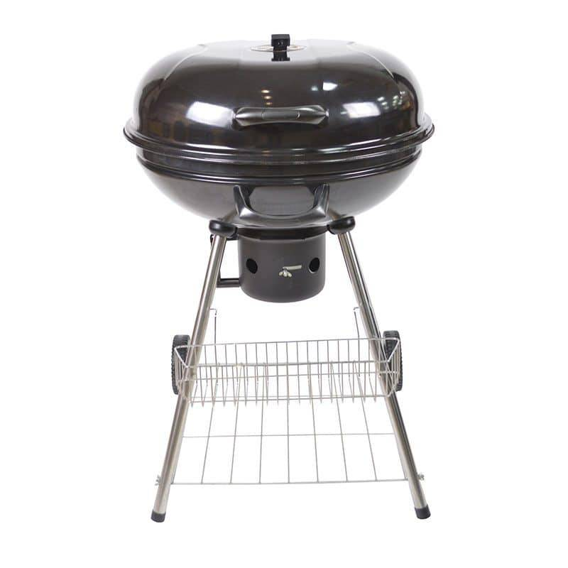 COSYLIFE Barbecue charbon COSYLIFE CL-57 ROND 57CM avec roulettes