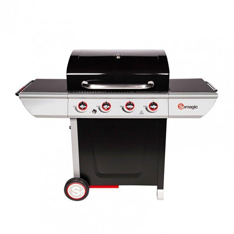 SOMAGIC Barbecue gaz SOMAGIC 4 brûleurs MANHATTAN
