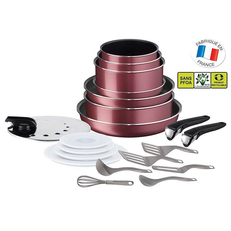 TEFAL Batterie de cuisine TEFAL ingenio 20 pieces