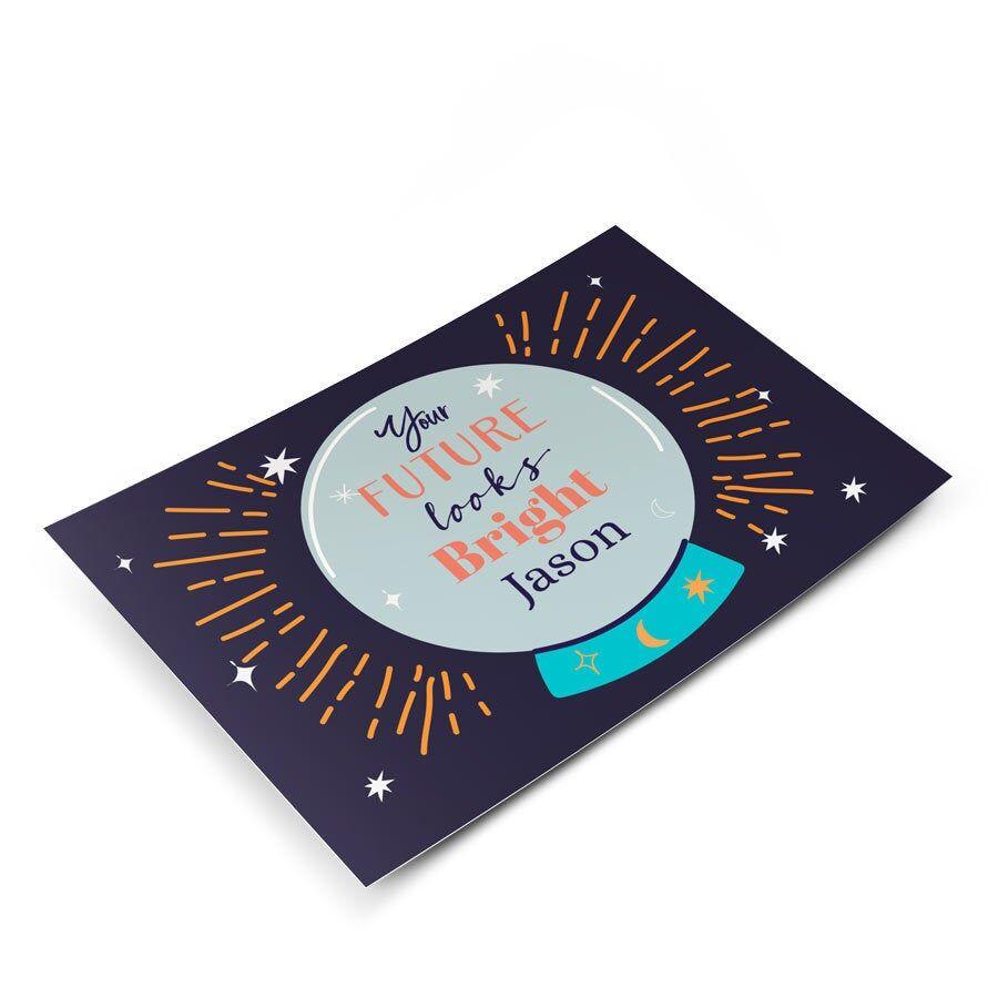 YourSurprise Carte de félicitations avec photo