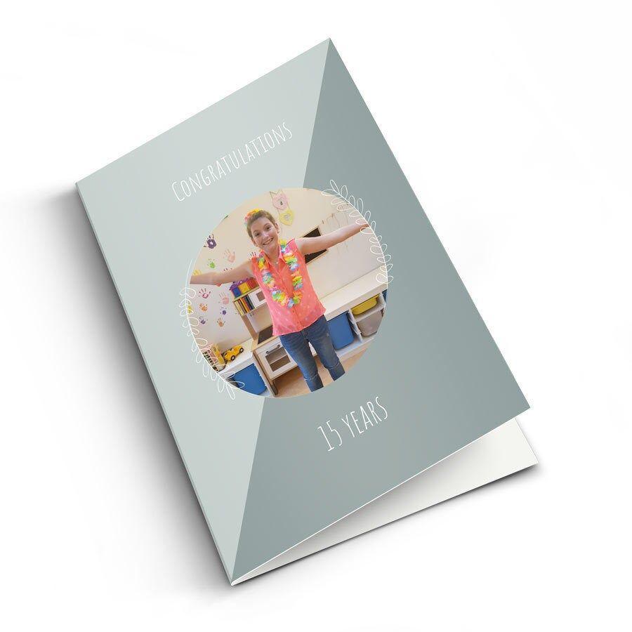 YourSurprise Carte postale Anniversaire de mariage - vertical M