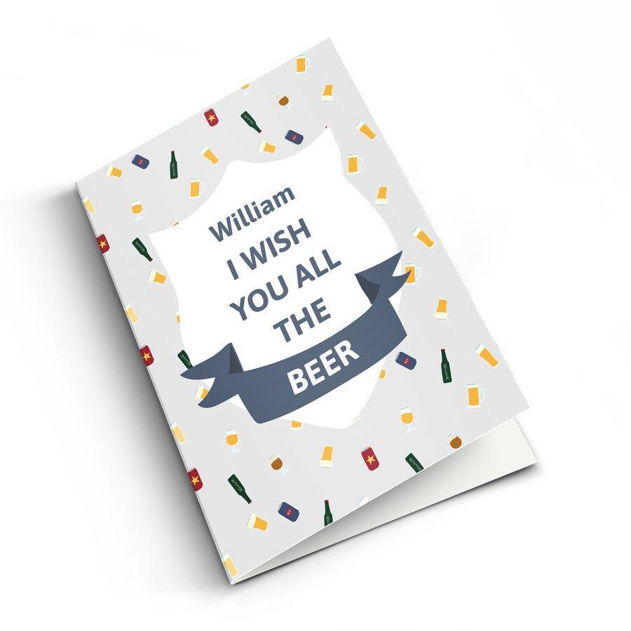 YourSurprise Carte postale Juste comme ça - XL vertical
