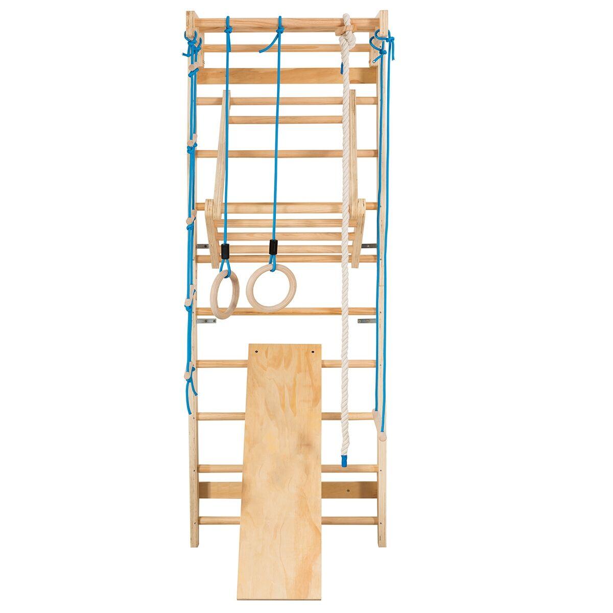Costway Espalier Echelle de Gymnastique 80 x 60 x 220 CM Multifonctionnel pour Adulte et Enfant