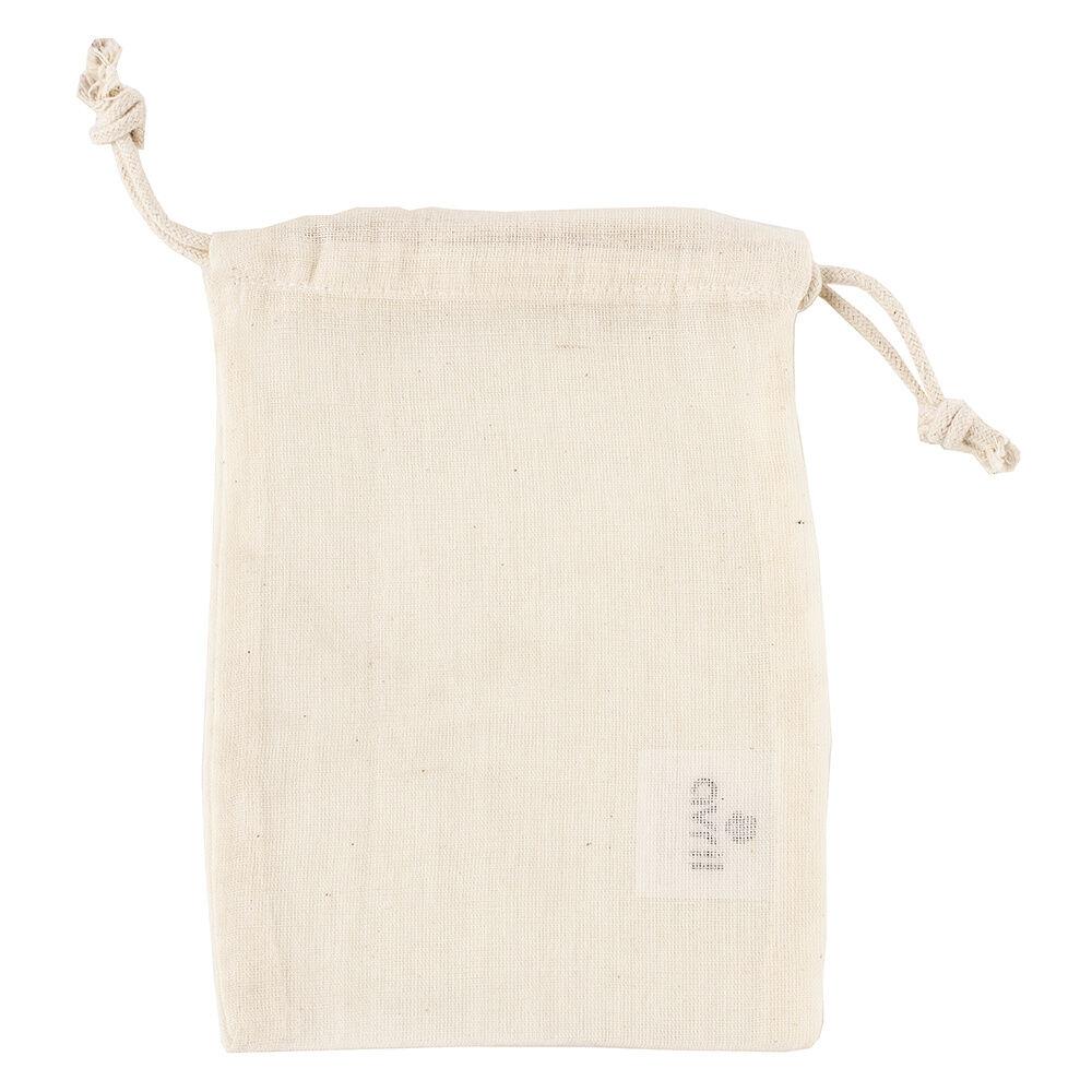 Avril Moyen modèle 13 x 19 cm Pochette en coton bio Ecru