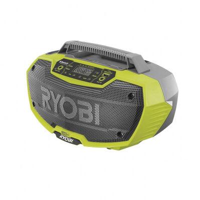 Ryobi Radio de chantier 18V One + - Bluetooth + port USB - machine nue
