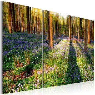 Artgeist 90x60 - Tableau - Spring Forest