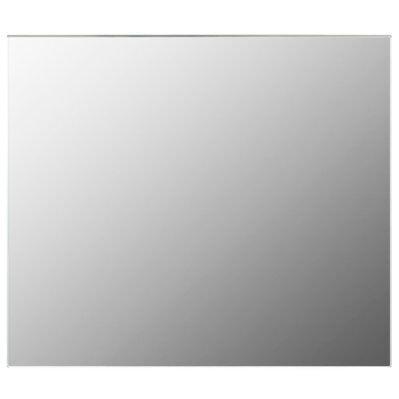 vidaXL Miroir sans cadre 80x60 cm Verre