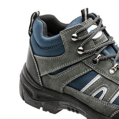 Högert Chaussures de sécurité hautes HÖGERT - S1P SRC - gris clair/bleu