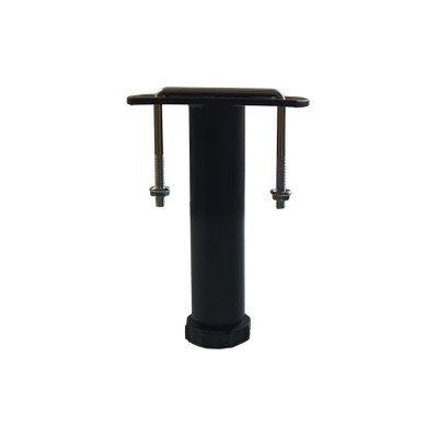 EBAC Literie   1 pied de liaison métal H 14 à 25 cm pour sommier métal