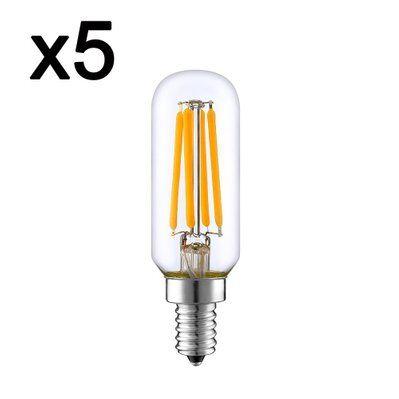 In The Loop Lot de 5 ampoules LED PLUTON transparent verre 4W H9 cm