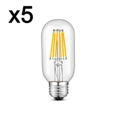 In The Loop Lot de 5 ampoules LED SEDNA transparent verre 6W H12cm