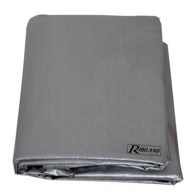 Ribimex Housse 90 grammes grise pour chaises empilables ou fauteuil 70x70xh110 cm, PRH09170X70G