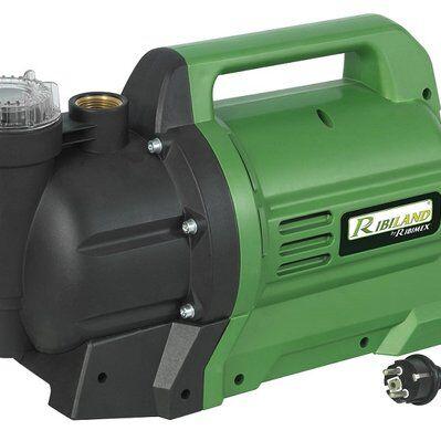 Ribimex Pompe a eau Jet inox 1300 W - 4.8 bars, PRJETF130
