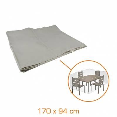 Greengers Housse de protection pour table rectangulaire - 170 x 94 x 60 cm