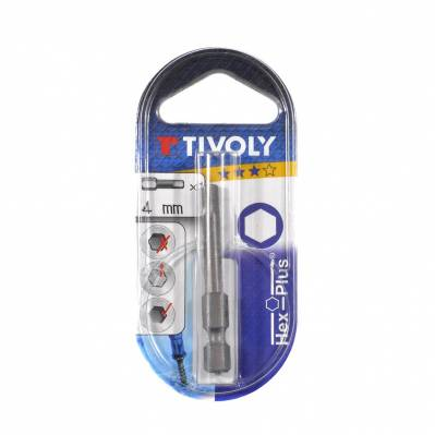 Tivoly Embout torsion hexagonal - 4 mm