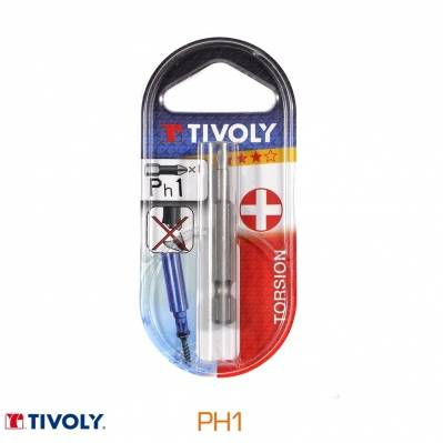 Tivoly Embout torsion - PH1 - 50 mm