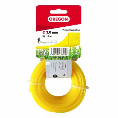 Oregon Fil carré jaune - 3mm - 15 mètres