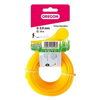 Oregon Fil rond jaune 2mm - 15 mètres