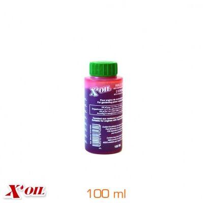 X'oil Huile X'OIL® semi-synthèse pour moteur 2 temps - Dose de 100 ml pour 5L