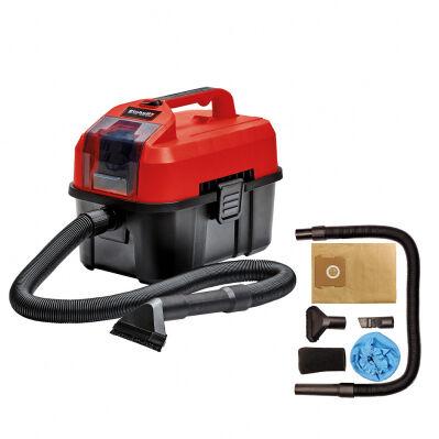 Einhell Aspirateur eau et poussière sans fil EINHELL - 10L - machine nue