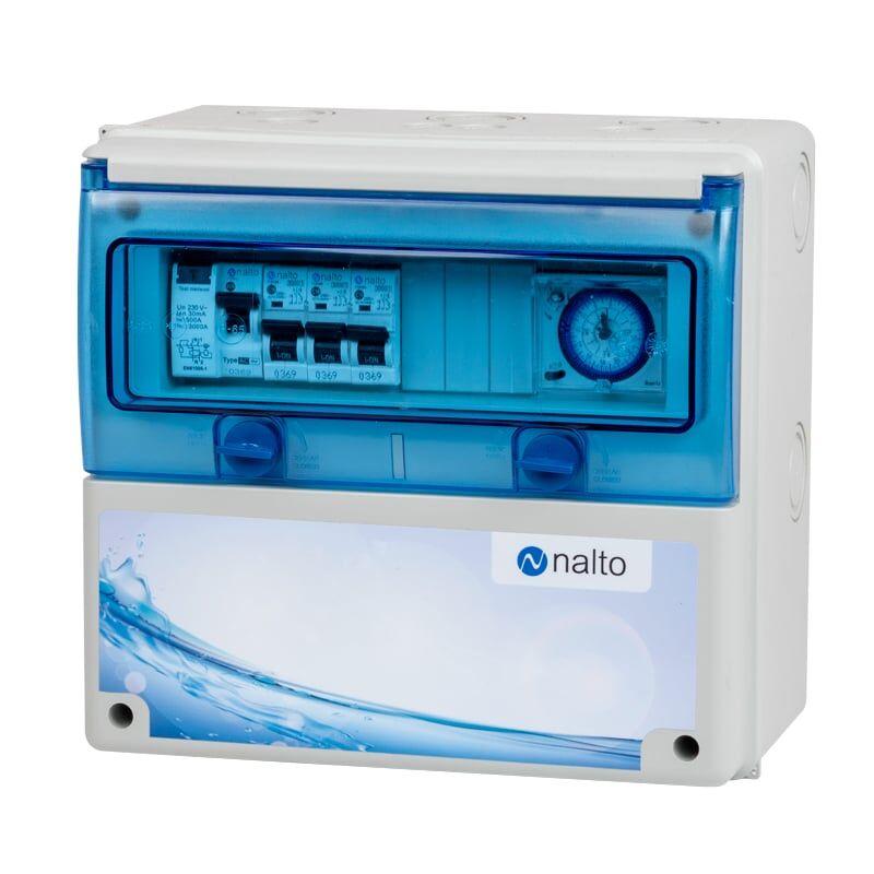 Nalto Coffret Electrique Piscine Hors Sol pour Filtration + PAC + robot