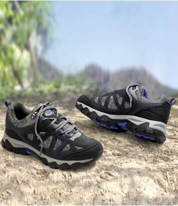 Atlas for Men Chaussures Rando Femme Tige Basse S gris