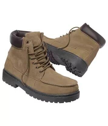 Atlas for Men Chaussures Homme Marron Tout-Terrain S marron