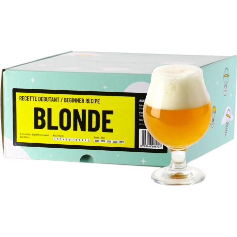 InterDrinks Recette Bière Blonde - Recharge Pour Beer Kit Débutant   Interdrinks   Saveur Bière