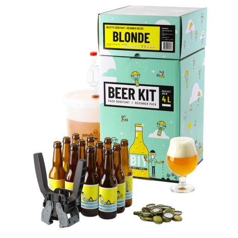Saveur Bière Beer Kit Débutant Complet Bière Blonde   Saveur Bière