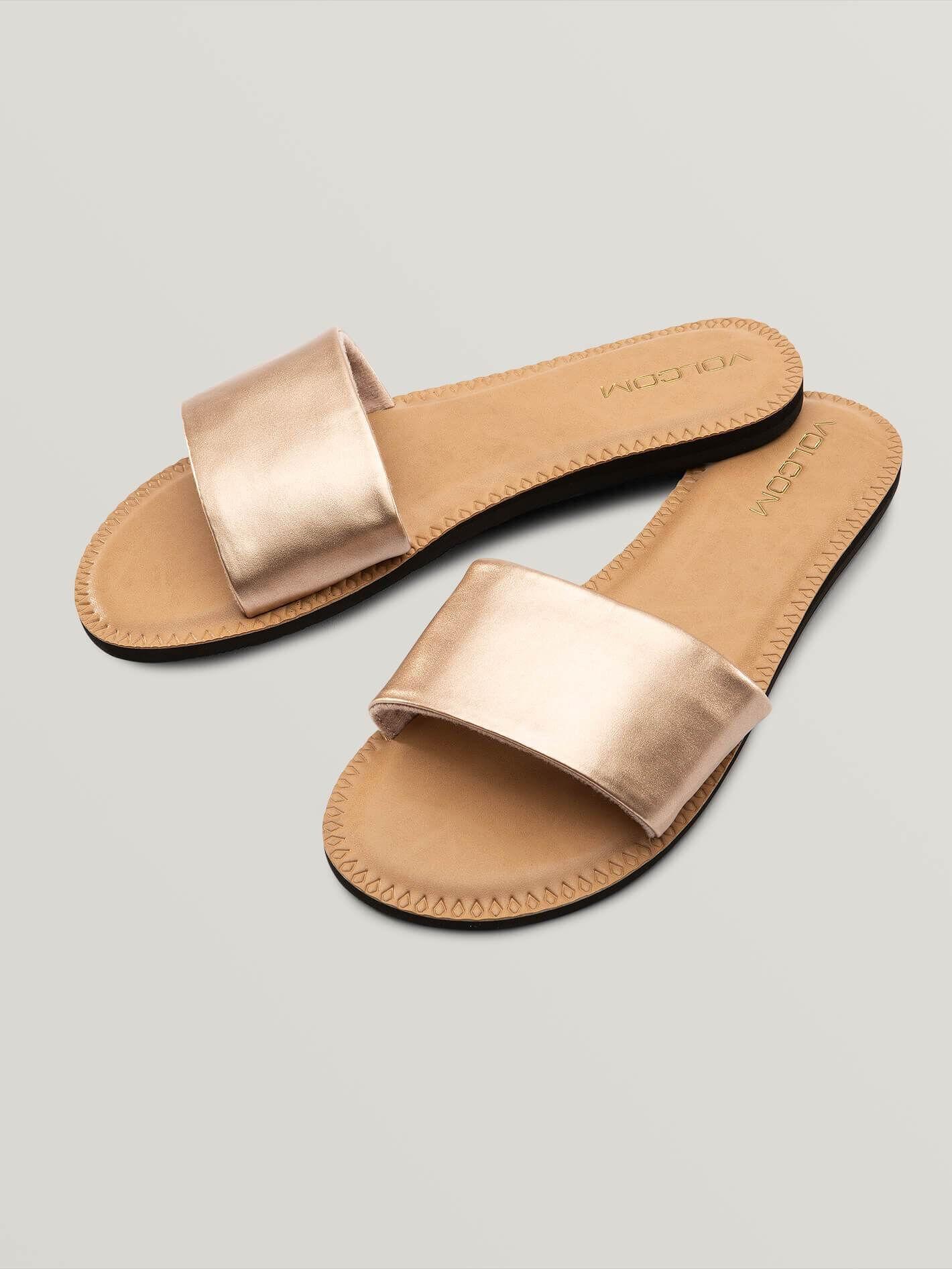 volcom Sandales Volcom Simple Slide Rose Gold Femme