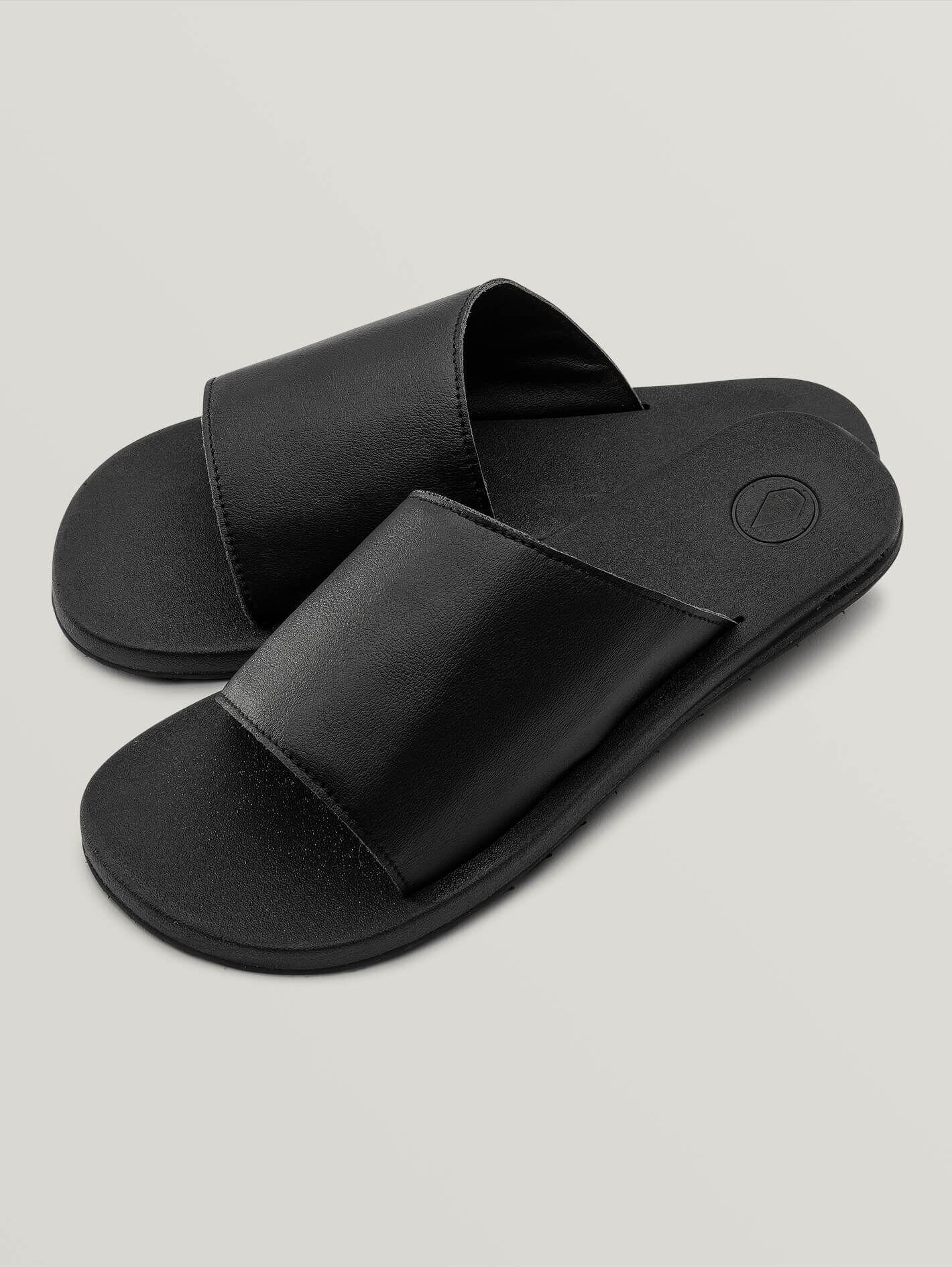 volcom Sandales Volcom E-cliner Slide Black Out Femme